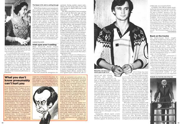 Article Preview: What you don't know presumably can't hurt you, August 1978 | Maclean's
