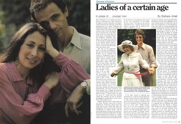 Article Preview: Ladies of a certain age, August 1978 | Maclean's