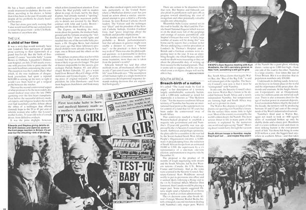 Article Preview: Breach-birth of a nation, August 1978 | Maclean's