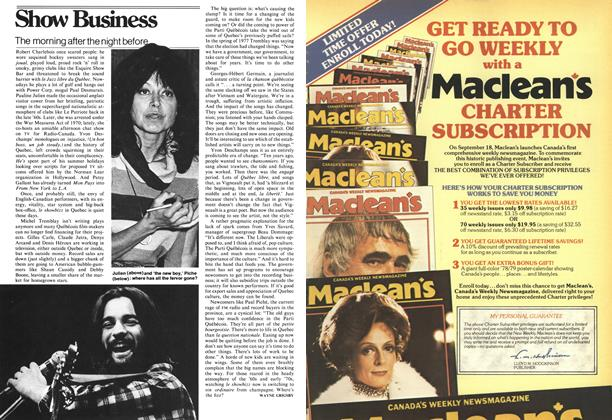 Article Preview: The morning after the night before, August 1978 | Maclean's