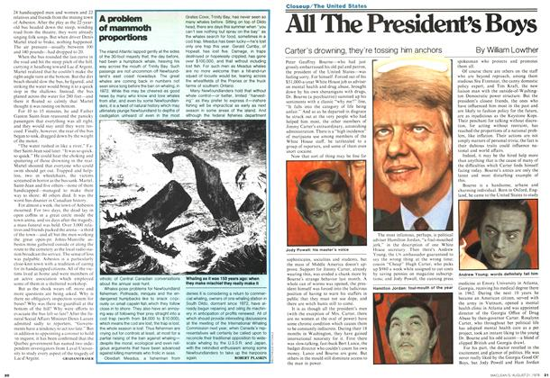 Article Preview: All The President's Boys, August 1978 | Maclean's