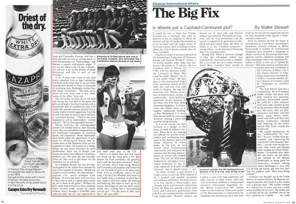 Article Preview: The Big Fix, August 1978 | Maclean's