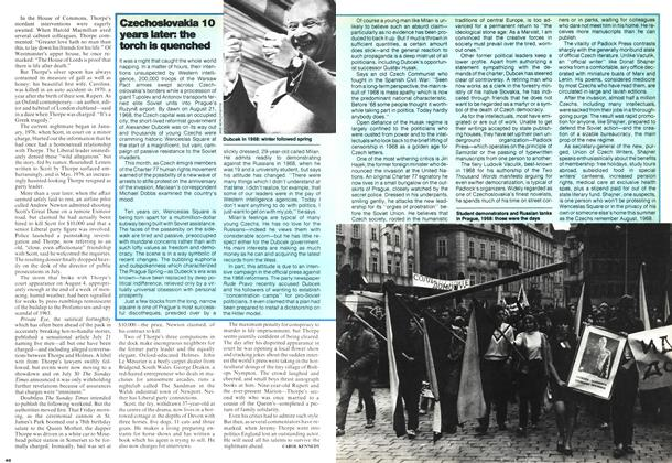 Article Preview: Czechoslovakia 10 years later: the torch is quenched, August 1978 | Maclean's