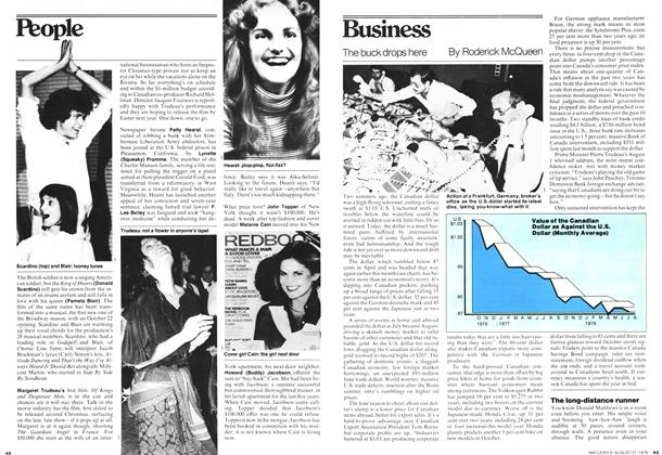 Article Preview: The buck drops here, August 1978 | Maclean's
