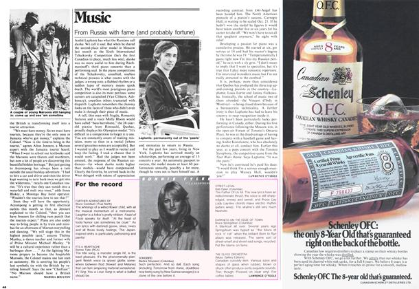 Article Preview: From Russia with fame (and probably fortune), August 1978 | Maclean's
