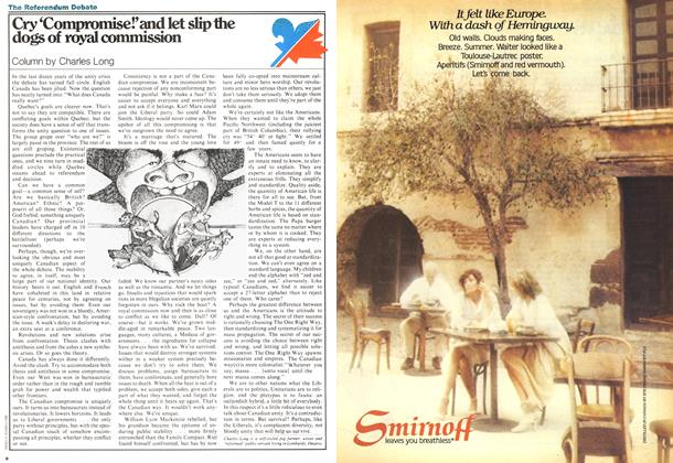 Article Preview: Cry 'Compromise!' and let slip the dogs of royal commission, August 1978 | Maclean's