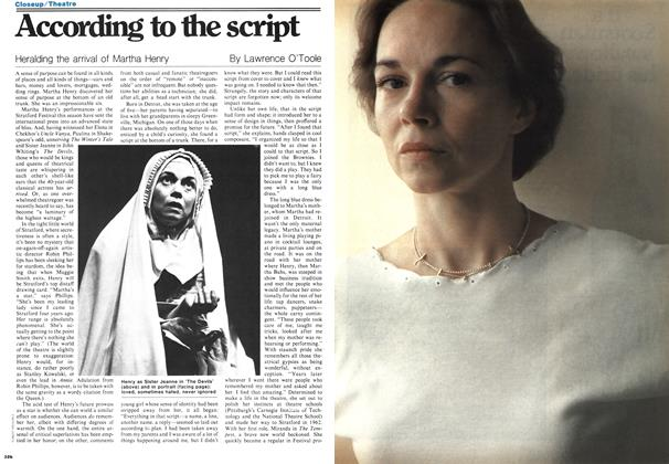 Article Preview: According to the script, September 1978 | Maclean's