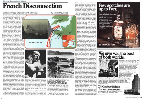 Article Preview: French Disconnection, September 1978 | Maclean's
