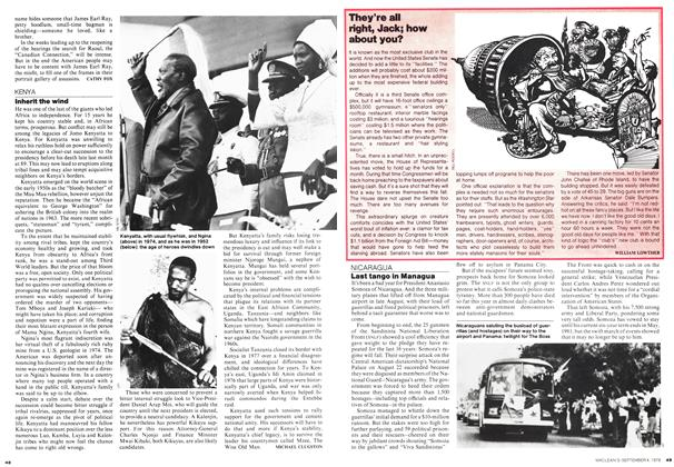 Article Preview: Last tango in Managua, September 1978 | Maclean's