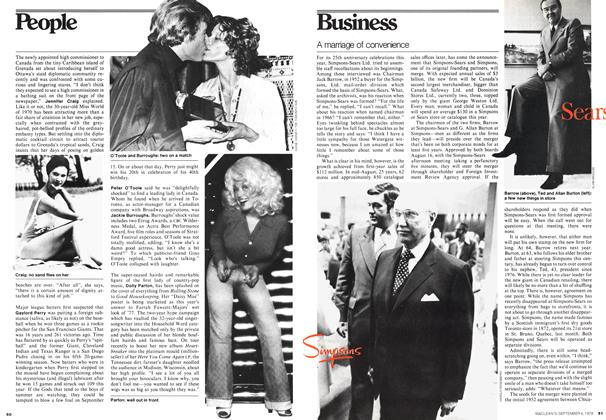 Article Preview: A marriage of convenience, September 1978 | Maclean's