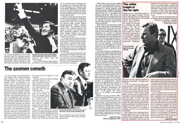 Article Preview: The white knight of the far right, September 1978 | Maclean's