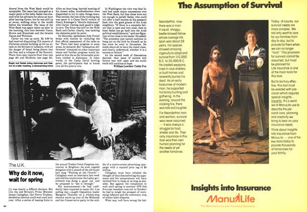 Article Preview: Why do it now, wait for spring, September 1978 | Maclean's