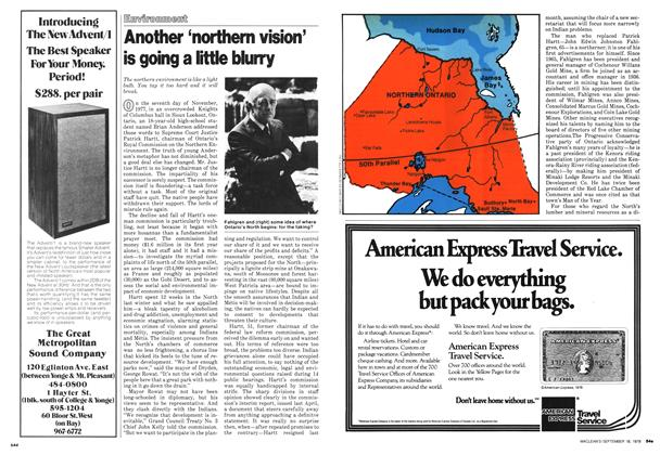 Article Preview: Another 'northern vision' is going a little blurry, September 1978 | Maclean's