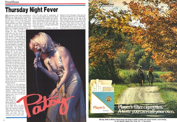 Article Preview: Thursday Night Fever, September 1978 | Maclean's