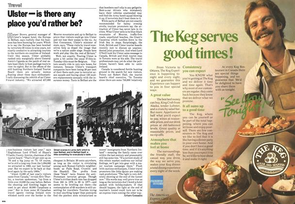 Article Preview: Ulster—is there any place you'd rather be?, September 1978 | Maclean's