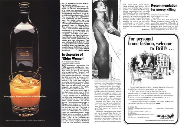 Article Preview: In dispraise of 'Older Women', September 1978 | Maclean's