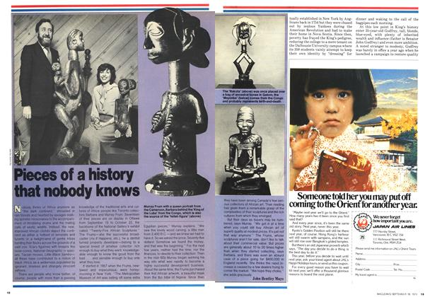 Article Preview: Pieces of a history that nobody knows, September 1978   Maclean's