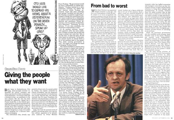 Article Preview: From bad to worst, September 1978 | Maclean's