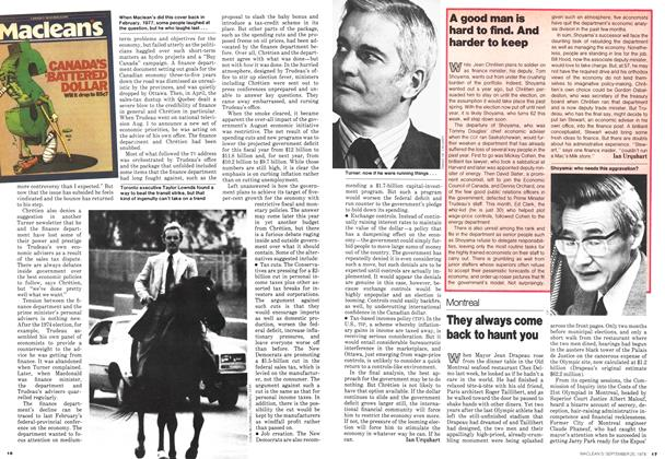 Article Preview: They always come back to haunt you, September 1978 | Maclean's