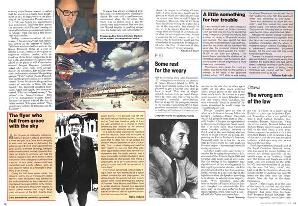 Article Preview: A little something for her trouble, September 1978 | Maclean's