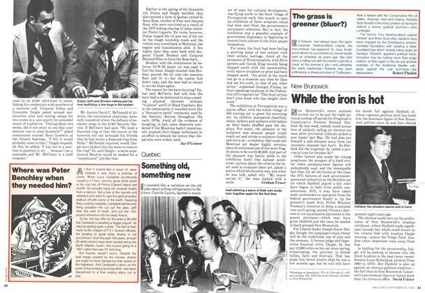 Article Preview: While the iron is hot, September 1978 | Maclean's