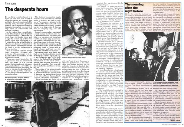 Article Preview: The morning after the night before, September 1978 | Maclean's