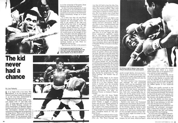 Article Preview: The kid never had a chance, September 1978 | Maclean's