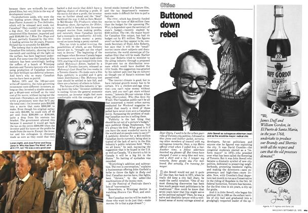 Article Preview: Buttoned down rebel, September 1978 | Maclean's
