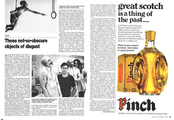Article Preview: Those not-so-obscure objects of disgust, September 1978 | Maclean's
