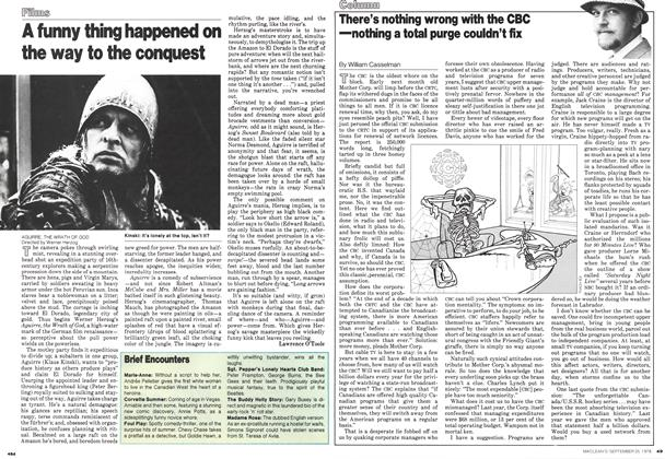 Article Preview: There's nothing wrong with the CBC —nothing a total purge couldn't fix, September 1978 | Maclean's