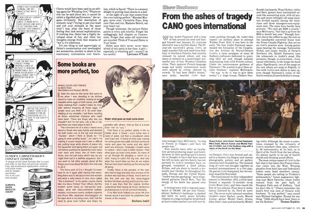 Article Preview: Some books are more perfect, too, September 1978 | Maclean's