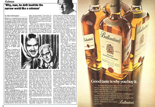 Article Preview: 'Why, man, he doth bestride the narrow world like a colossus', September 1978 | Maclean's