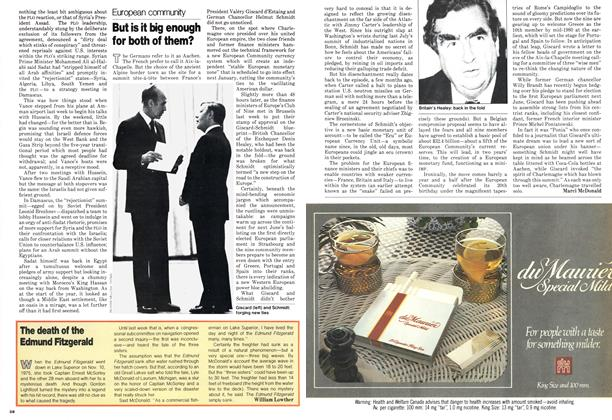 Article Preview: But is it big enough for both of them?, October 1978 | Maclean's