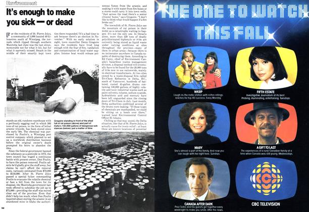 Article Preview: It's enough to make you sick—or dead, October 1978 | Maclean's