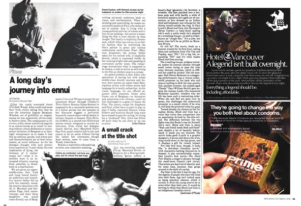 Article Preview: A small crack at the title shot, October 1978 | Maclean's