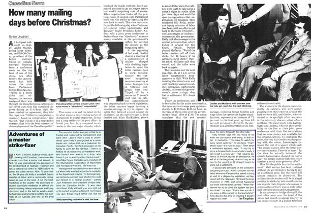 Article Preview: How many mailing days before Christmas?, October 1978 | Maclean's