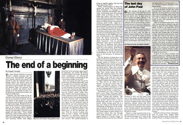Article Preview: The end of a beginning, October 1978 | Maclean's