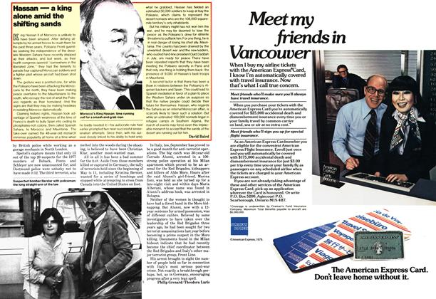 Article Preview: Hassan — a king alone amid the shifting sands, October 1978 | Maclean's