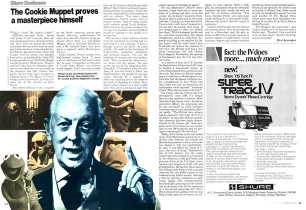 Article Preview: The Cookie Muppet proves a masterpiece himself, October 1978 | Maclean's