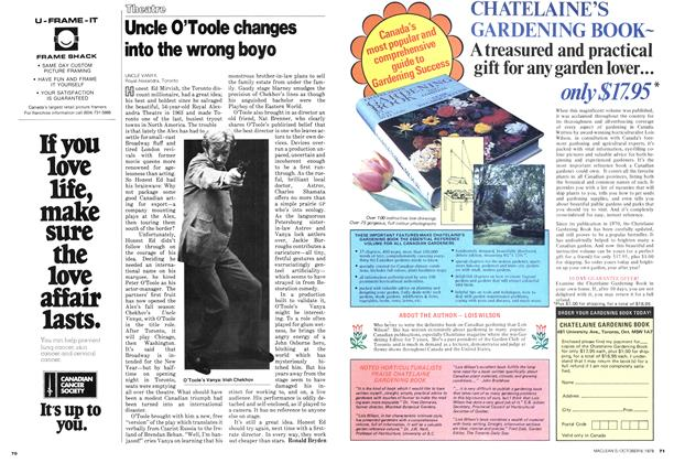 Article Preview: Uncle O'Toole changes into the wrong boyo, October 1978 | Maclean's