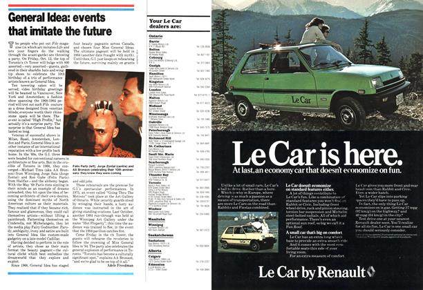Article Preview: General Idea: events that imitate the future, October 1978 | Maclean's