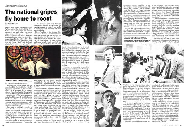Article Preview: The national gripes fly home to roost, October 1978 | Maclean's