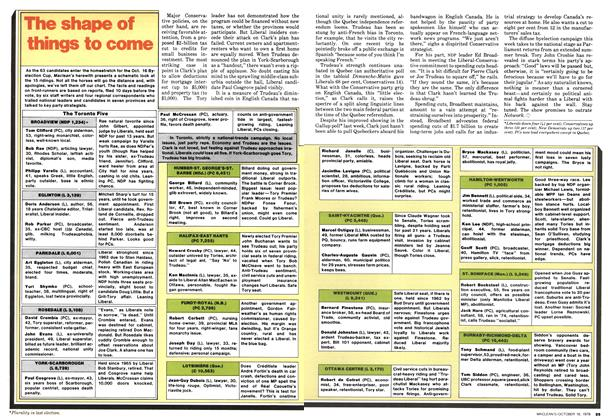 Article Preview: The shape of things to come, October 1978   Maclean's