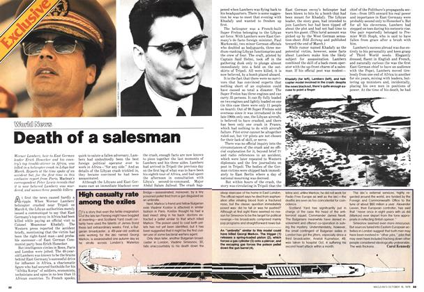 Article Preview: Death of a salesman, October 1978 | Maclean's