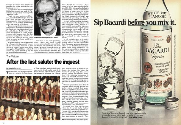 Article Preview: After the last salute: the inquest, October 1978 | Maclean's