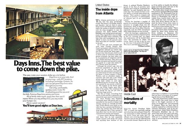 Article Preview: The inside dope from Atlanta, October 1978 | Maclean's