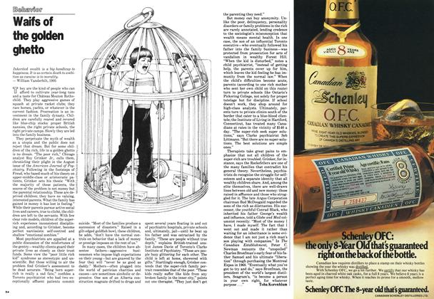Article Preview: Waifs of the golden ghetto, October 1978 | Maclean's