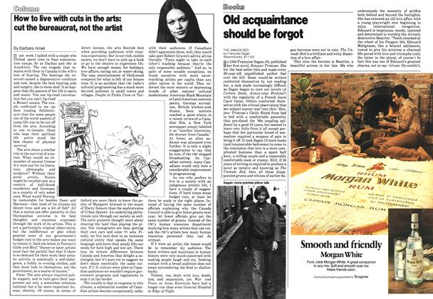 Article Preview: How to live with cuts in the arts: cut the bureaucrat, not the artist, October 1978 | Maclean's