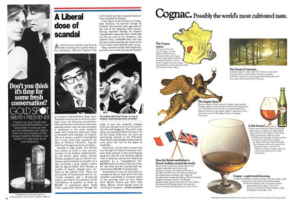 Article Preview: A Liberal dose of scandal, October 1978 | Maclean's