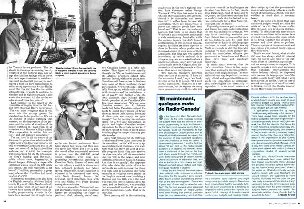 Article Preview: 'Et maintenant, quelques mots de Radio-Canada', October 1978 | Maclean's